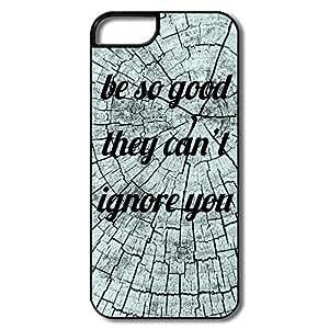 Custom Cool Hard Plastic Be Good Iphone 5s Cases