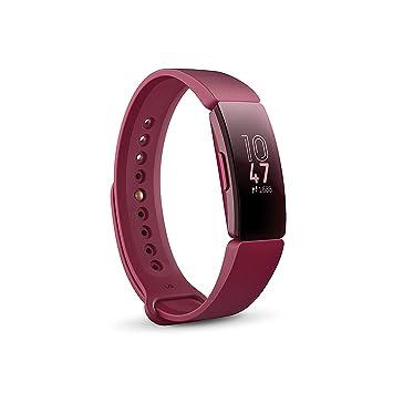 Fitbit Inspire, Pulsera de salud y actividad física, Vino: Fitbit ...