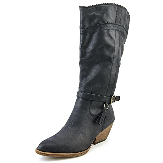 Izzy Women US 6 Black Mid Calf Boot