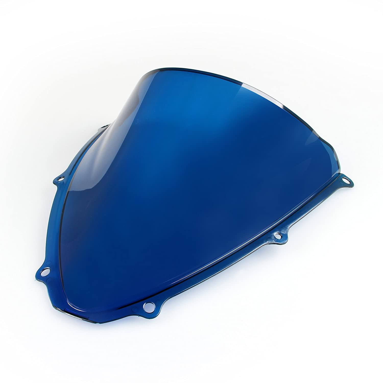 Areyourshop Windshield WindScreen Double Bubble For GSXR 600//750 2006-2007 K6
