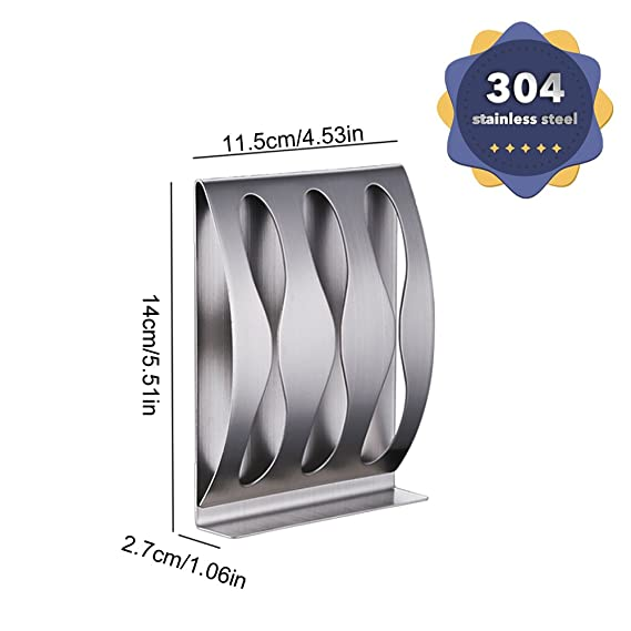 Amazon.com: Wenkoni(2Hole+3Hole) Bathroom 304 Stainless Steel Self/Adhesive Wall Mount Toothbrush Holder Razor Stand.: Home & Kitchen