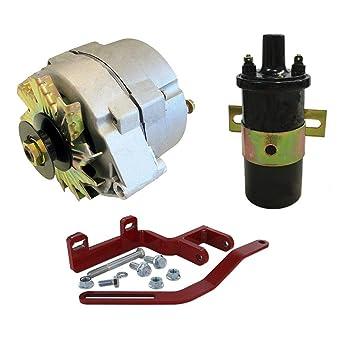 6 to 12 volt wiring on farmall tractors amazon com farmall ih 12 volt alternator conversion kit 100 200  12 volt alternator conversion kit