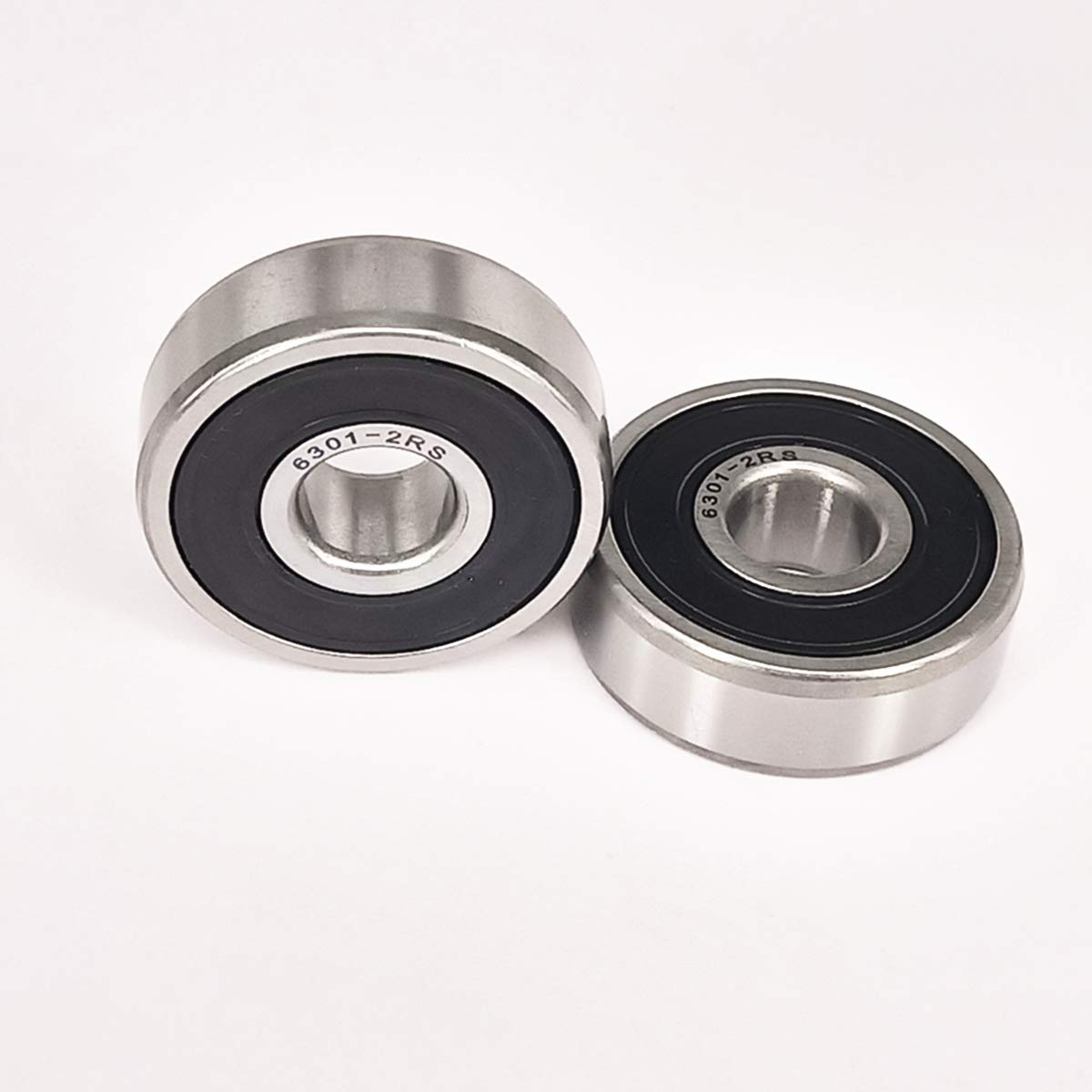 6204-2RS Sealed Radial Ball Bearing 20X47X14 10 pack
