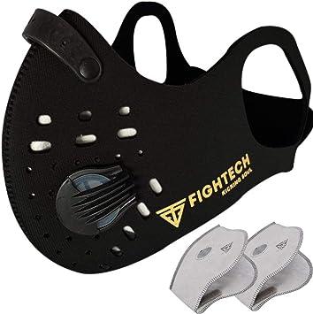 Black Neoprene Half Face Mask Reusable Washable