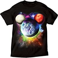 Disney Mens Planet Mickey Mouse T Shirt