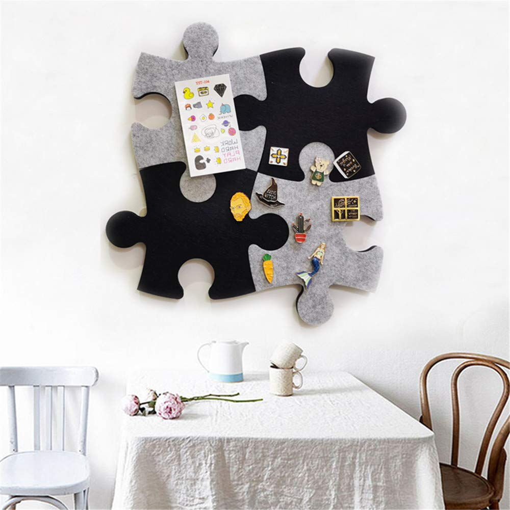 Wall Bulletin Board Hexagon Square Circle Pin Board w//Self Adhesive to Keep Photos Memos Display Board Pads Pictures Drawing Goals Notes Colorful Foam Wall Decorative Set of Felt Cork Board Tiles