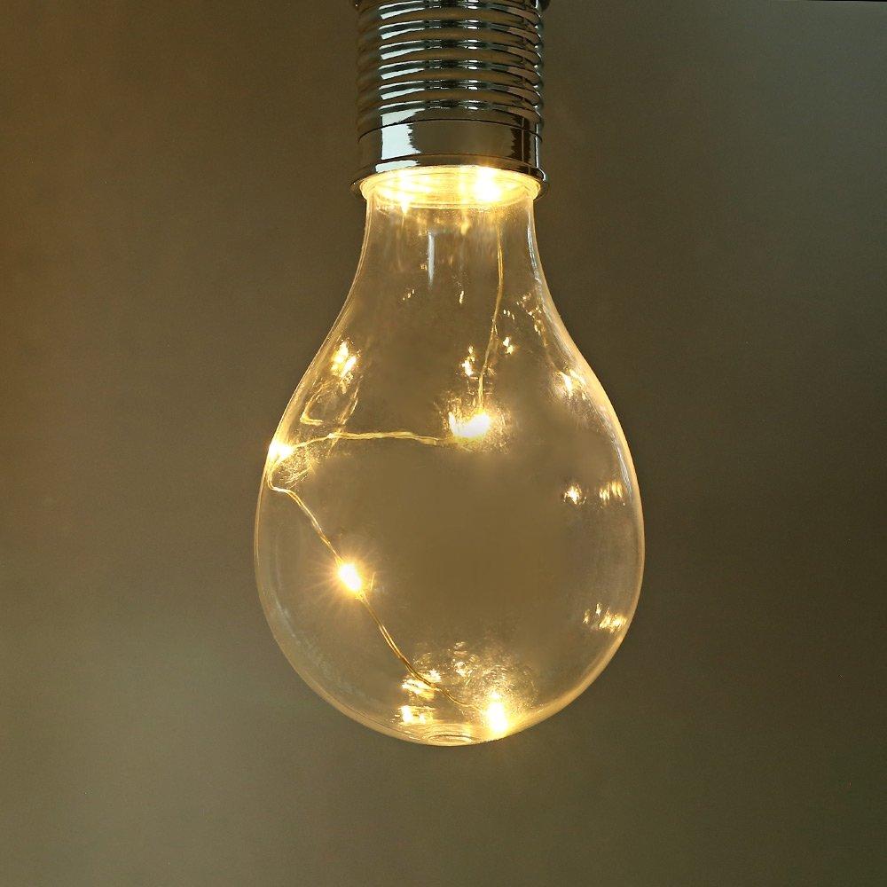 [Đồ gia dụng] Chiếu sáng Bóng đèn năng lượng mặt trời Bóng đèn LED Đèn điện năng lượng mặt trời Đồng cảm biến Đêm Tự động Tia trong nhà Vườn ngoài trời Tiệc Garden Tết Canh Cươi cắm trại Điện Nhẹ - mua ngay tại: https://omelii.com/a/B073VLFVDK