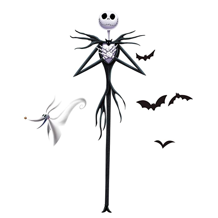 RoomMates The Nightmare Before Christmas Jack Peel And Stick Giant Wall Decals