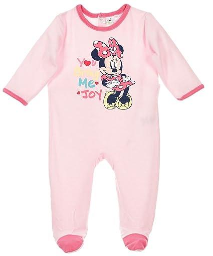 9f9d96bc28bf4 Pyjama velours bébé fille Minnie Rose de 3 à 23mois (23 mois