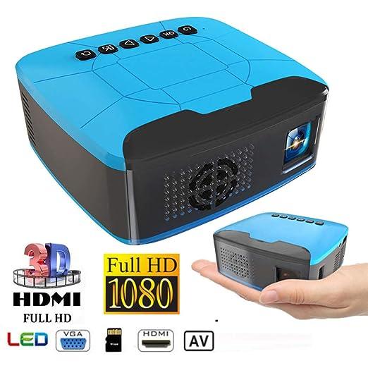 ZMM U20 Mini proyector casero LED proyector HD 1080P generador ...