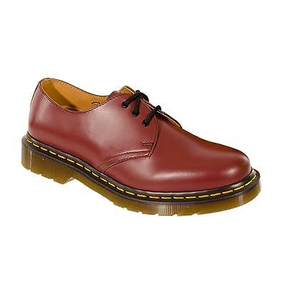 ffdeb7dae3688 Mens Airwair Dr Martens Cherry Red Leather Classic 3 Eye DM Shoes 1461Z (8)
