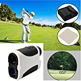 400m Golf Rangefinder Slope Compensation Angle Scan Pinseeking Club + Case