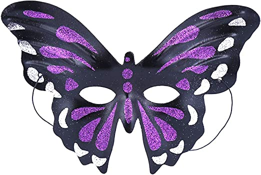 Daliuing - Máscara de Halloween con diseño de mariposa para ...