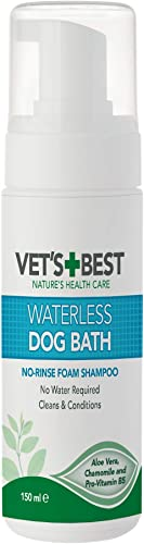 Vet's-Best-Waterless-Dog-Bath-|-No-Rinse-Dry-Shampoo-for-Dogs
