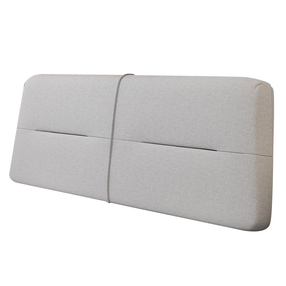 PENGFEI クッションベッドの背もたれ シングル/ダブル 大きな背中の枕 ベッドサイドカバー 衝突回避 枕カバーは取り外し可能で洗濯可能です 2仕様、 5色、 5サイズ (色 : 3#with Headboard, サイズ さいず : 200x60x10CM) B07F5N6PYV 200x60x10CM|3#with Headboard 3#with Headboard 200x60x10CM