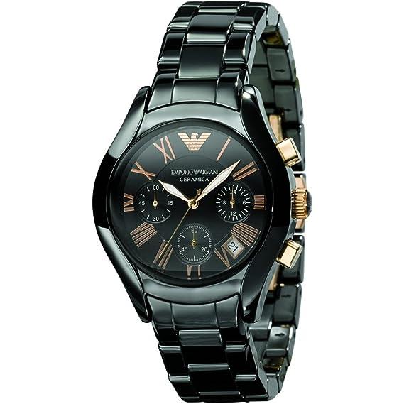 Emporio Armani AR1411 - Reloj analógico de Cuarzo para Mujer: Amazon.es: Relojes