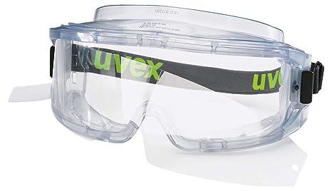 Uvex Ultravision Supravision Excellence - Gafas de Sol con Cristales Protectores, Color Transparente y Gris