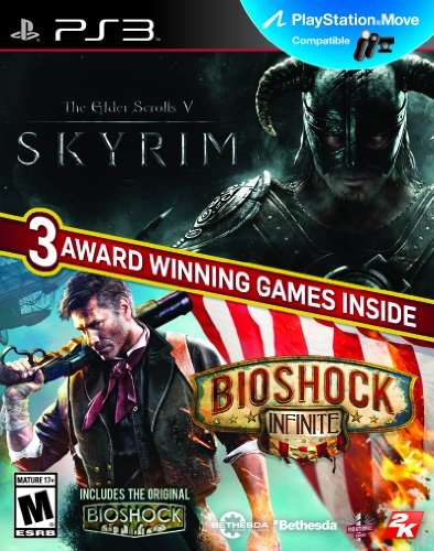 The Elder Scrolls: V:Skyrim & Bioshock Infinite Bundle - PlayStation 3 (Ps3 Skyrim Dawnguard)