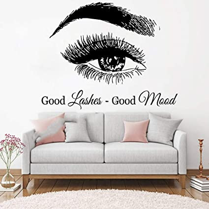 Stickers Muraux Citations En Francais Good Lashes Good Mood