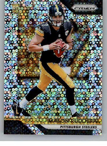 90355dea9 Amazon.com  2018 Panini Prizm Prizm Disco Football  225 Mason Rudolph  Rookie Pittsburgh Steelers Official NFL Trading Card Exclusive Parallel to  Blasters  ...