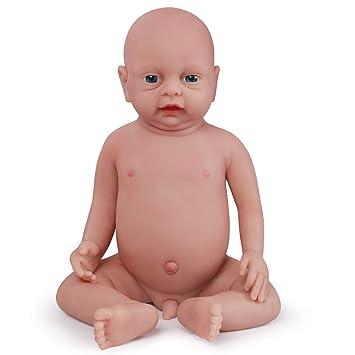 Amazon.com: Vollence Muñeca de bebé realista de 18.0 in, sin ...