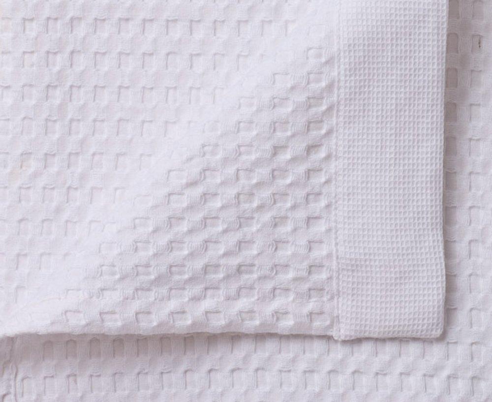 Gilden Tree 100% Natural Cotton Lattice Waffle Weave Bath Towel Set with Bath Mat (Slate) by Gilden Tree (Image #4)