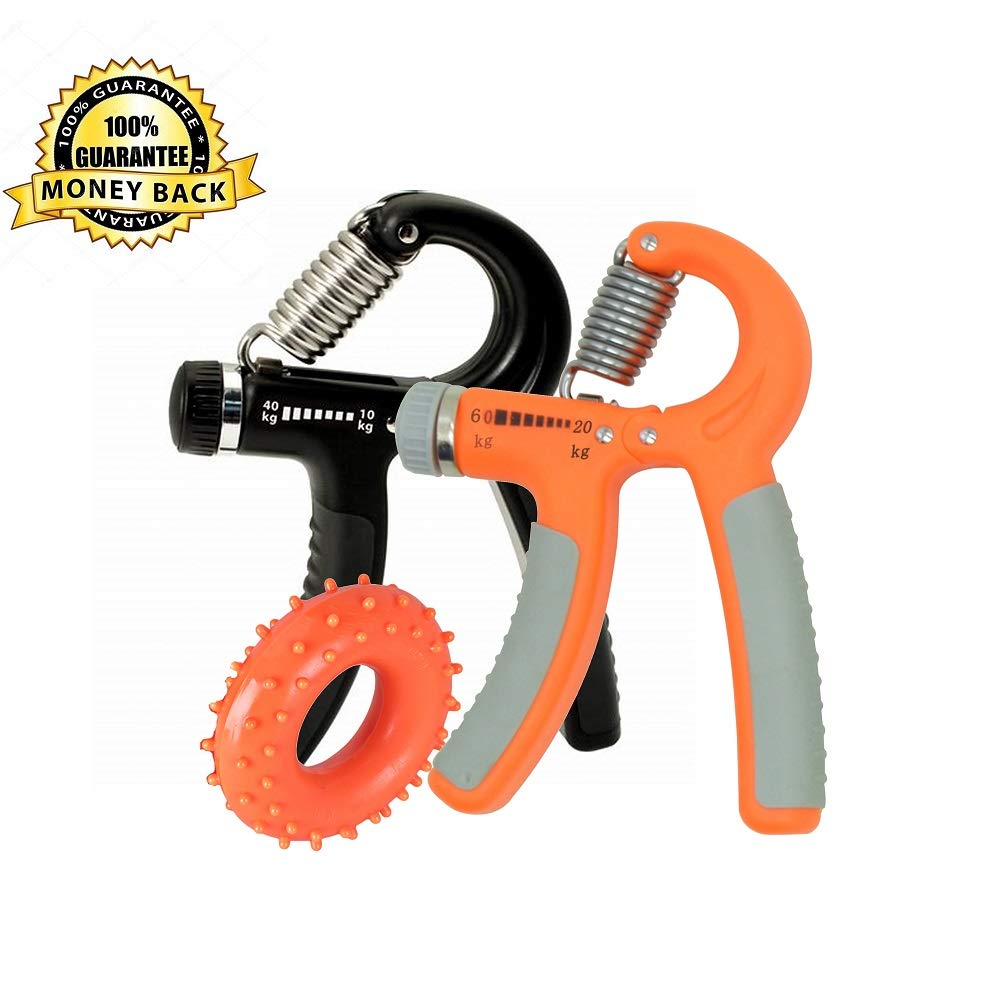 UNS Hand Grip Strengthener Non-Slip Gripper for Hand Training in Mountaineering, Golf, Tennis, Boxing, Fitness, Guitar, Pianist, etc.