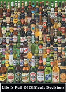 Amazon 1 x periodic table of beer styles 36x24 art print life is full of difficult decisions beer college poster print 24 by 36 urtaz Gallery