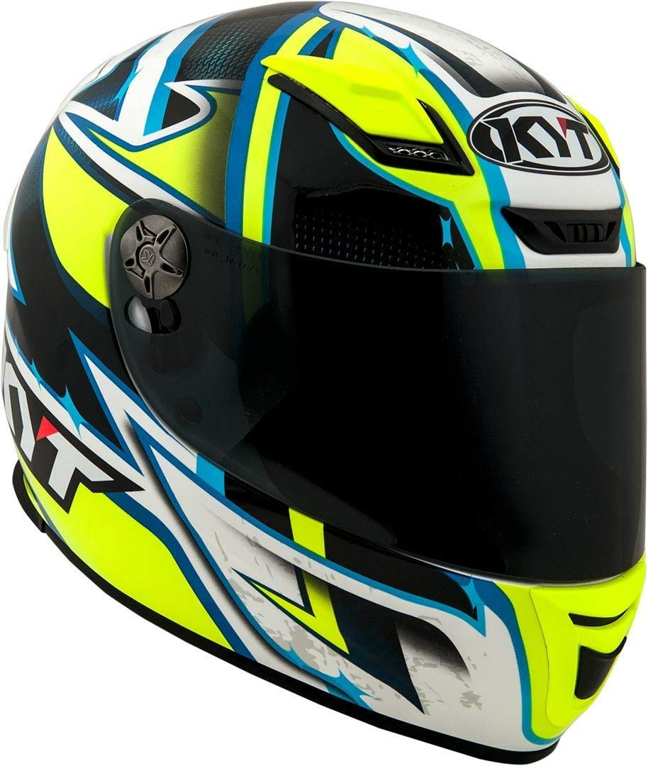 Amazon.es: KYT casco Moto Integral KR-1, Lightning, talla XS, 53 - 54 cm