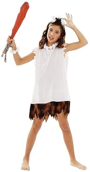 Disfraz de Cavernícola para Niña en varias tallas