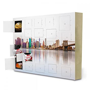 Living At Home Adventskalender advent calendar york skyline reflections travel travel