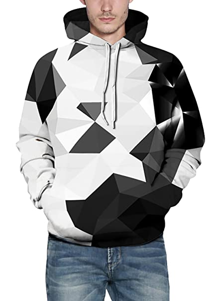 1faa332dba3 FEOYA Mens 3D Hoodies Galaxy Printed Cool Sweatshirts for Teen Boys