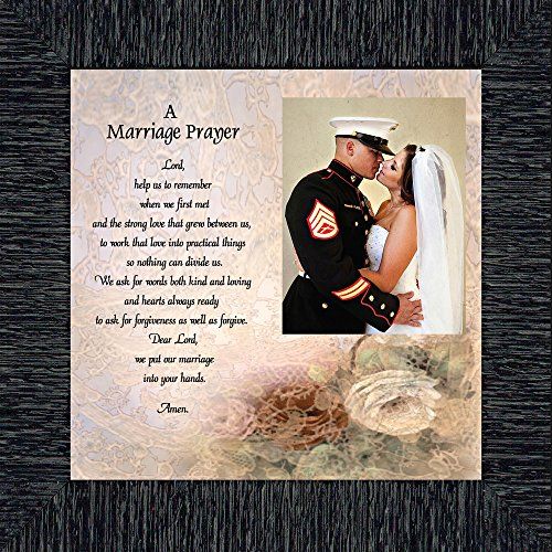 Prayer for you Marriage, Personalized Picture Frame, 10X10 ()