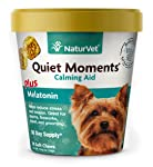 Quiet Moments Calming Aid Soft Chew Supplement for Dogs, Reduce Stress and Anxiety with this Veterinarian formulated...