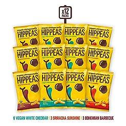HIPPEAS Organic Chickpea Puffs + Variety...