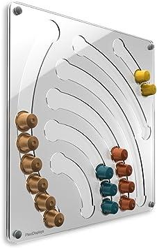 Kapselspender-Schublade Kapselhalter Kapsel-Spender für Nespresso 36 Kapseln Z
