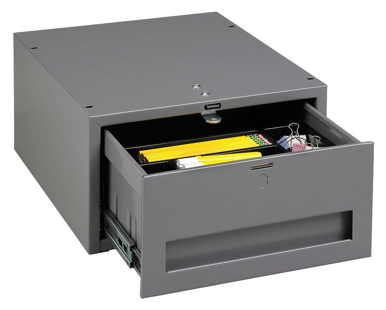 Stackable Drawer, 15W x 18D x 8-1/4H, Gray WBD-1 by Tennsco  B000LDN2C4