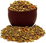 Capital Teas Organic Premium Turmeric Ginger Herbal Tea, 4 Ounce -Kosher, Loose Leaf, Decaf,...
