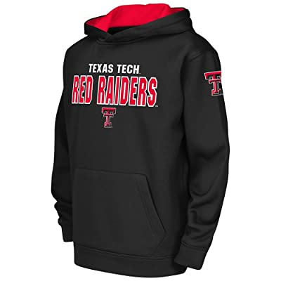 Youth Texas Tech Red Raiders Poly Pull-over Hoodie