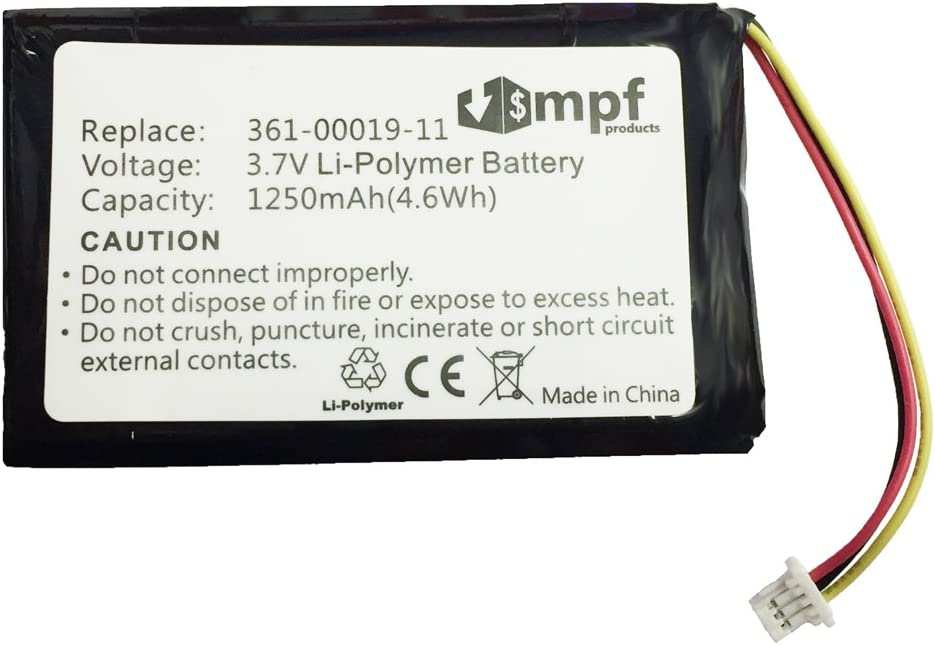 205 250 MPF Products 1250mAh 361-00019-11 260 361-00019-13 270 GPS Units 265 252 010-00621-10 Battery Replacement Compatible with Garmin Nuvi 200 255