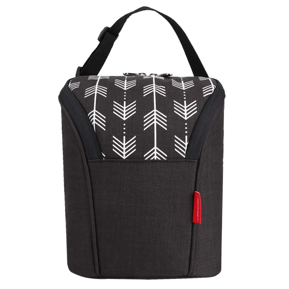 Amazon.com: Leke aislado botella de bebé bolsas con doble ...
