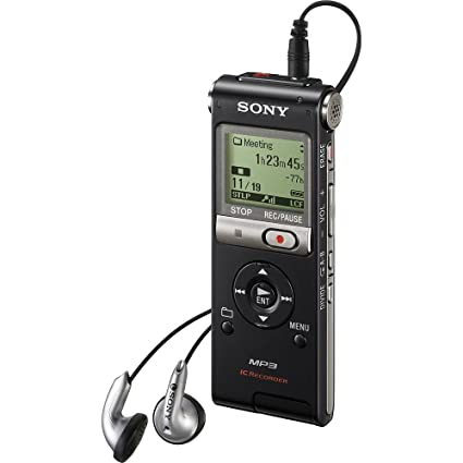 amazon com sony icd ux300 4 gb flash memory digital voice recorder rh amazon com Sony Digital Voice Recorder Best Sony Digital Voice Recorder