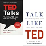 Ted Talks and Talk Like TED 2 Books Collection set (TED Talks: The official TED guide to public speaking ,Talk Like TED: The