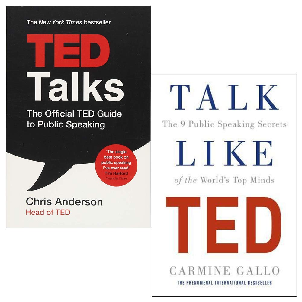Image result for Public Speaking Books: Talk Like TED
