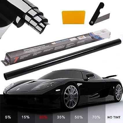 50cm x 3m SILVER CAR MIRROR EFFECT FILM TINTING VAN HOME WINDOW SHADE CAR 20/%50//