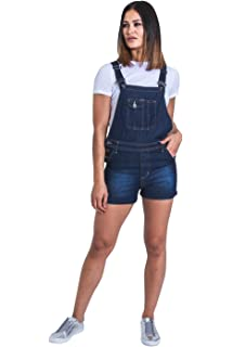 USKEES CLAIRE Short Oversized Dungaree Overall Dress Mint Relaxed Loose Fit Bi