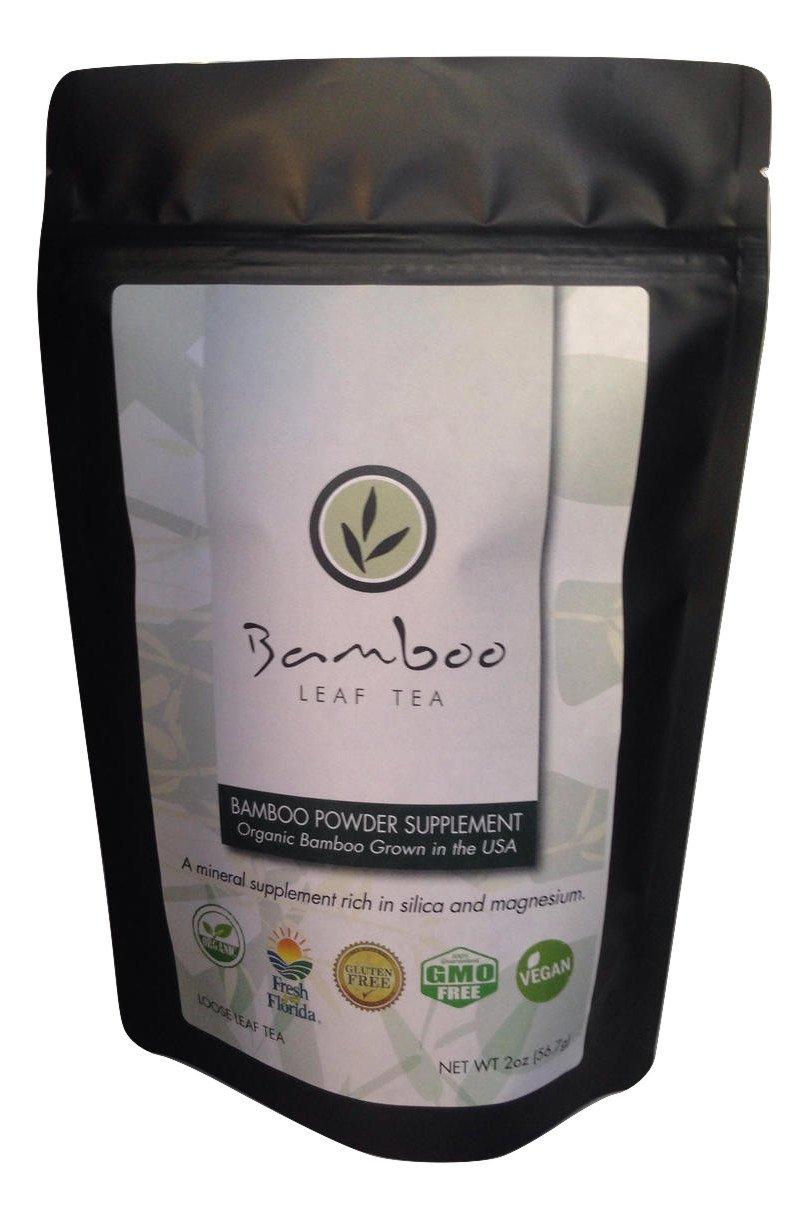 Bamboo Leaf Powder Supplement (8 oz)