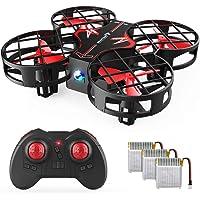 SNAPTAIN H823H Plus Mini Drone per Bambini, Quadricottero Funzione Throw & Go, Funzione di Hovering, 3D Filp, modalità Headless, velocità Regolabile Buon Regalo di Natale per Principianti