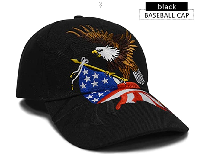 Baseball Cap Snapback Hats caps Men Streetwear Gorras Men Cap Trucker Cap USA Flag Eagle Baseball