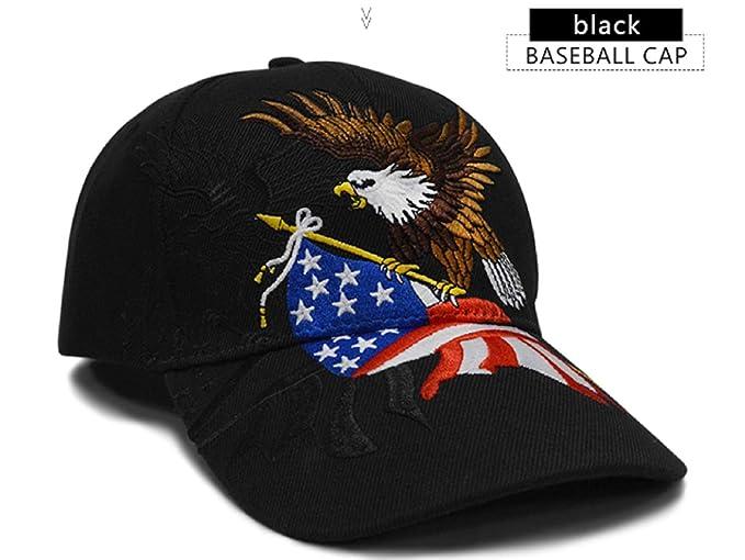 Baseball Cap Snapback Hats caps Men Streetwear Gorras Men Cap Trucker Cap USA Flag Eagle Baseball